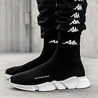Женские кроссовки в стиле Balenciaga, черные