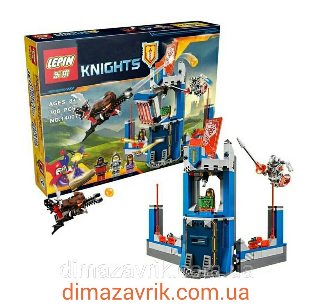 "Конструктор Lepin 14007 Nexo Knight (аналог Лего) ""Библиотека Мерлока"", 308 дет"