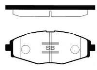 Тормозные колодки передние(R13) HI-Q SP1086
