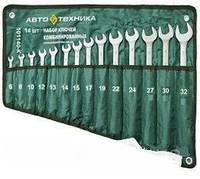 Набор ключей в брезентовом планшете 14 шт  Автотехника