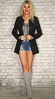 """Куртка жакет с накладными карманами большой размер """"Deva"""" 2P/NS 2008"""