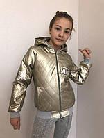 Детские кожаные куртки р. 134-164 341-6 (341-6)
