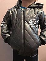 Детские кожаные куртки р. 134-164 341-8 (341-8)
