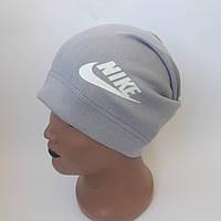 Трикотажная  шапка  для мальчика подросток удлиненая 8-11 лет оптом