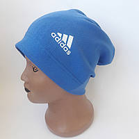 Детская трикотажная шапка  для мальчика подросток удлиненая 8-11 лет оптом