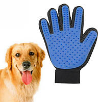 Перчатка для вычесывания животных True Touch