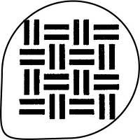 Трафарет для украшения торта (геометрия) MASK19