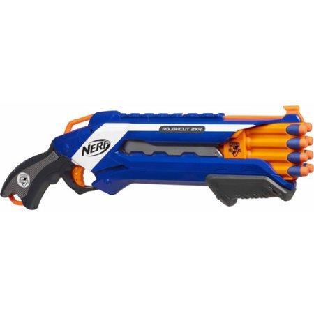 Бластер НЕРФ Рафкат Nerf N-Strike Elite Rough Cut 2X4 Blaster