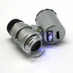 Микроскоп с подсветкой 60х - Строительные, отделочные инструменты, крепежный, механический инструмент - NEO-TOPEX в Киеве