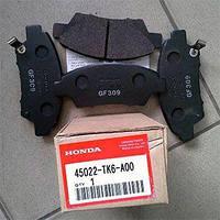 Передние торм. колодки JAZZ,CR-Z 45022-TK6-A00