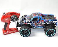 Большой гоночный джип на радиоуправлении Speed Racing синий 1:14