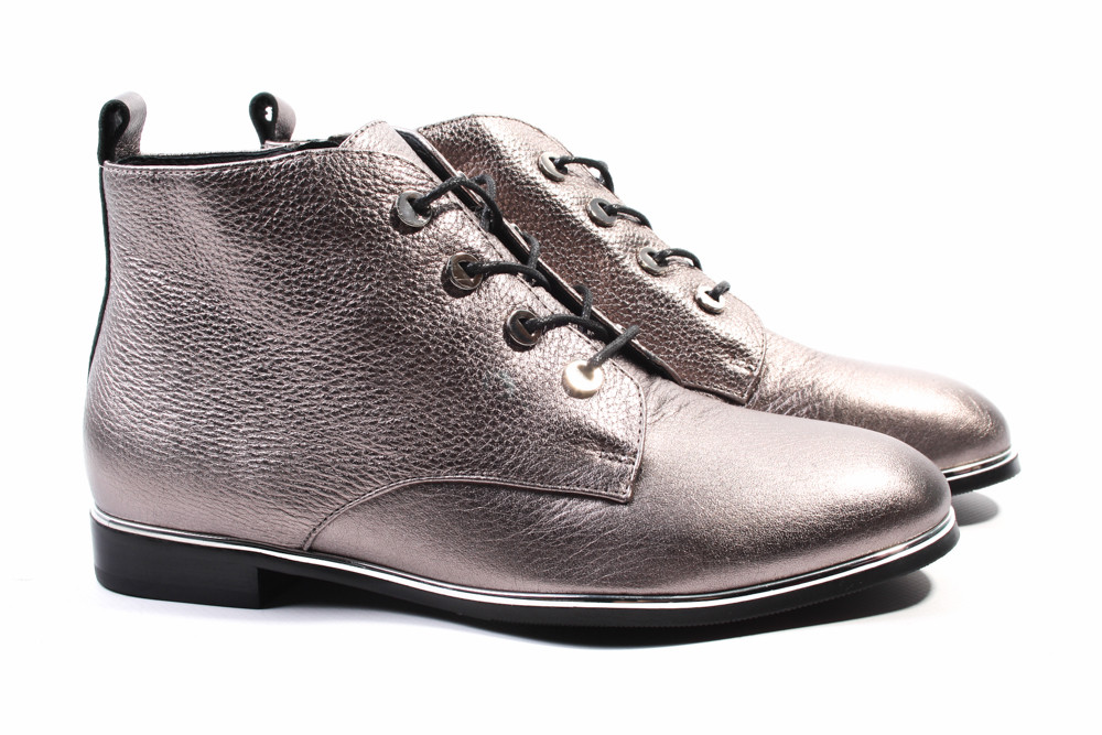 3d7c07c470d7 Ботинки женские Angelo Vani натуральная кожа, цвет серый (ботильоны,  каблук, ...
