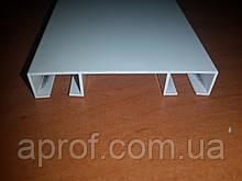 Карниз алюминиевый двухрядный БПО-02