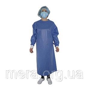 Халат хирургический SteriBata, стерильный, рукав с манжетой, фото 2