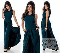 Костюм -Двойка. Платье-кардиган + брюки. (размеры 42-46)   0034-20