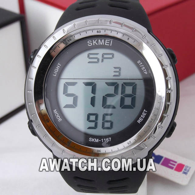 Мужские кварцевые наручные часы Skmei 1167