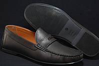 Коричневые мужские мокасины,туфли Prime