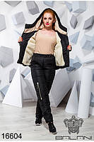 Модный  женский костюм на синтепоне 48-50 , доставка по Украине