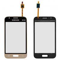 Тачскрин (сенсор) Samsung J105H Galaxy J1 Mini Самсунг, цвет золотой