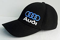Бейсболка коттон черная Audi