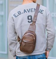 Мужская кожаная сумка. Модель 61364, фото 8