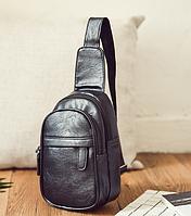 Мужская кожаная сумка. Модель 61364, фото 3