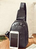 Мужская кожаная сумка. Модель 61364, фото 5