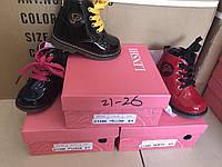Детские ботинки для девочек оптом Размеры 21-26