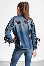 Оригинальный джинсовый жакет Glo-Story, фото 2
