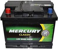 Автомобильный аккумулятор Mercury 6СТ-60 АзE Classic