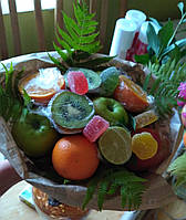 Букеты из фруктов,овощей,цветов Запорожье