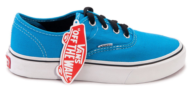 Кеды женские  Vans Aut (blue/white) - 02w