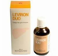 Средство для восстановления и очищения печени Левирон Дуо Leviron Duo
