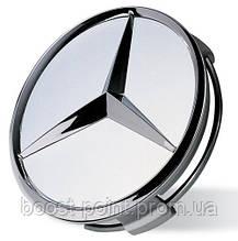 Заглушки (колпачки) в оригинальные литые колесные диски Mercedes-Benz (Мерседес-бенц)