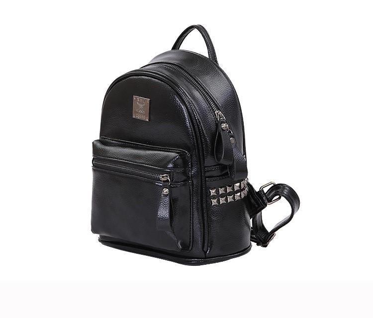 e8d7e6eafd3d Женский рюкзак черный - Интернет-магазин оригинальных кепок, рюкзаков и  аксессуаров в Львове