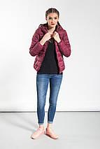 Легкая куртка Glo-Story, в цвете марсала, фото 3