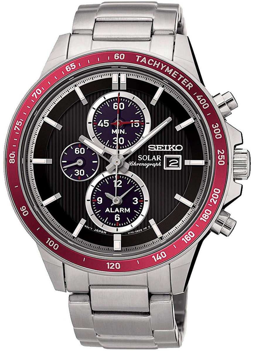 Часы Seiko SSC433P1 хронограф SOLAR
