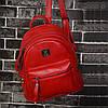 Женский рюкзак красный, фото 2