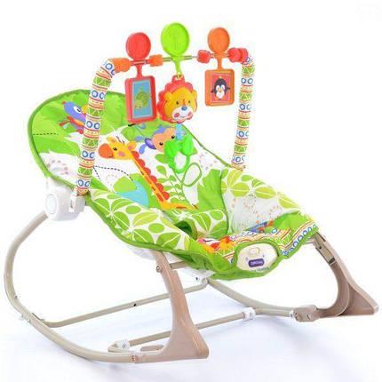 Детский шезлонг-качалка 8616 Eurobaby, фото 2
