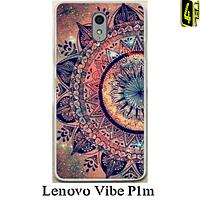 Чехол для Lenovo Vibe P1m, бампер, FB03, орнамент