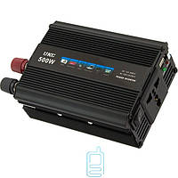 Инвертор напряжения 12V - 220V 500 ватт UKC c USB 5V