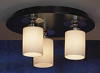 Люстра потолочная Lussole Caprile LSF-6107-03 круглая, 3 плафона, хром