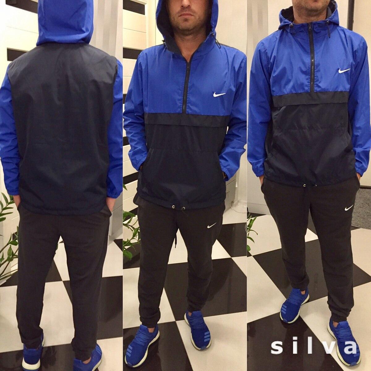 051825ab5585d Спортивный костюм мужской синий Найк (2 цвета) НН/-631, цена 640 грн.,  купить в Одессе — Prom.ua (ID#576698099)