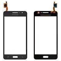 Тачскрин (сенсор) Samsung G530H Galaxy Grand Prime VE (G530 Самсунг, G530E, G531H, G530F DS), цвет черный