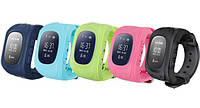 Детские умные часы q50, Micro-SIM, будильник, шагомер, зоны местонахождения и др.