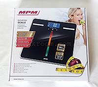 Весы напольные MPM MWA - 04 многофункциональные с ж/к  дисплеем