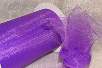 Фатин ширина 14,50см Purple на метраж