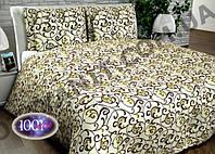 """Комплект постельного белья """"Розалия"""" 50% хлопок 50% полиэстер (Полуторный, двойной, евро)"""