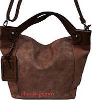 Женская сумка трехцветная, фото 1