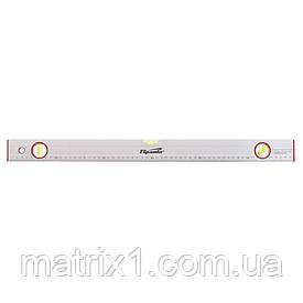 Уровень алюминиевый, 600 мм, 3 глазка, линейка// SPARTA